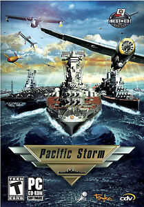 Pacific Storm Pacific Naval War Game for PC SEALED NEW