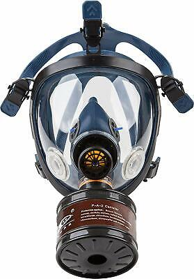 Full Face Respirator Mask Gas Spray Pesticide Chemical Formaldehyde Protection