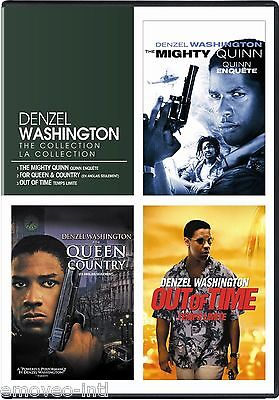 Mighty Quinn   For Queen And Country   Out Of Time  Denzel Washington   New Dvd