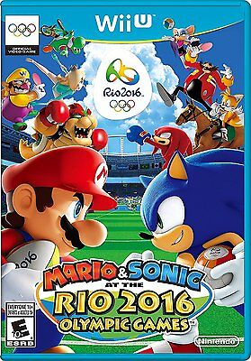 Mario   Sonic At The Rio 2016 Olympic Games  Nintendo Wii U  Ntsc  Sports  New
