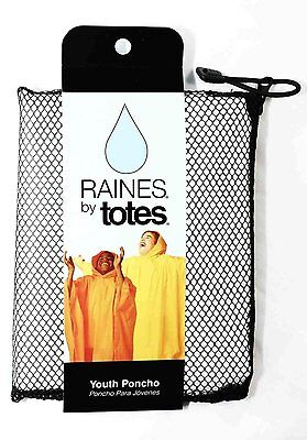 NEW | Youth Poncho One Size Fits Most in CLEAR: Raines by Totes | FREE SHIPPING](Clear Ponchos)