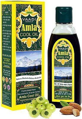 Amla Aceite - Brahmi - Mezcla De Y Hierbas - Pelo Cool...