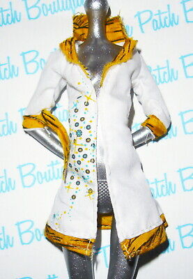 MONSTER HIGH MAD SCIENCE CLEO DE NILE MUMMY DOLL OUTFIT REPLACEMENT LAB - Mummy Outfit