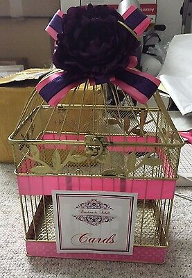 Gold Bird Cage, Wedding Bird Cage