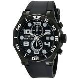 Invicta Men's 15397 Pro Diver Chronograph 50mm Black Dial Black-PVD Watch