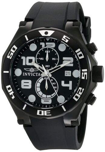 $59.99 - Invicta Men's 15397 Pro Diver Chronograph 50mm Black Dial Black-PVD Watch
