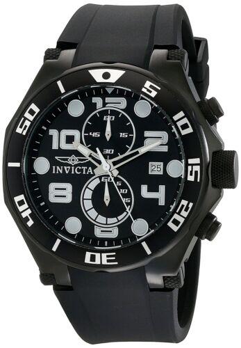 Купить Invicta - Invicta Men's 15397 Pro Diver Chronograph 50mm Black Dial Black-PVD Watch