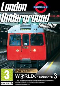 London Underground Simulator - World of Subways 3 (PC CD) NEW