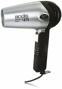 Andis RC-2 Ionic 1875W Ceramic Hair Dryer with Folding Handle Retractable Cord