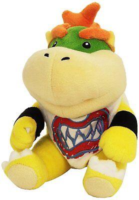 Super Mario Bros Figure Bowser Jr. Koopa Plush Toy Doll Xmas Gift 7 inch