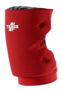 New Adams Trace 48000 Softball Knee Guard Scarlet Red Pad Small Short Style