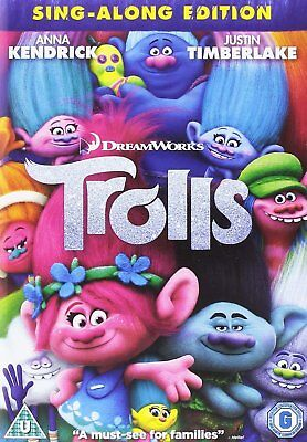 Trolls DVD. New and sealed. Free delivery.