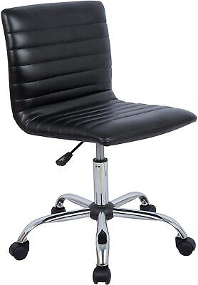Office Chair Computer Adjustable Low Back Armless Swivel Conference Room Chairs