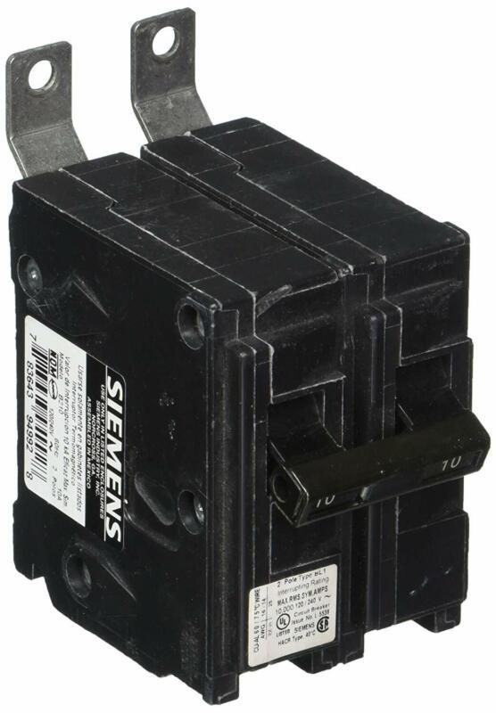 Siemens B210 10-Amp Double Pole 120/240-Volt 10KAIC Bolt in Breaker