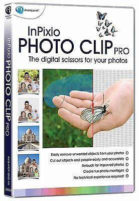 InPixio Photo Clip PRO Professional Photo Image Editor Full Version Software -PC