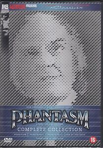 PHANTASM : THE COMPLETE COLLECTION 1 2 3 4 movies   DVD - PAL Region 2 - New