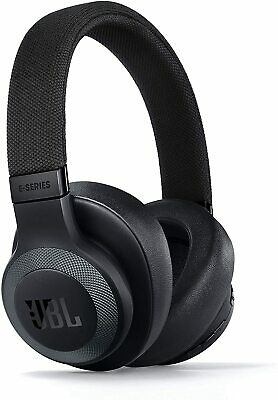 JBL E65BTNC in Black Matte - Over Ear Wireless Bluetooth Headphones