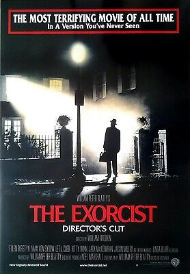 Der Exorzist - The Exorcist: Directors Cut (1973)  | US Import Filmplakat Poster