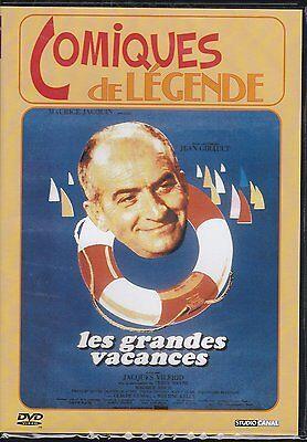 """-LOUIS DE FUNES """" LES GRANDES VACANCES  """" DVD NEUF"""