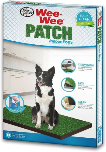 Four Paws Wee-Wee Patch Medium Indoor Potty Dog Housebreakin