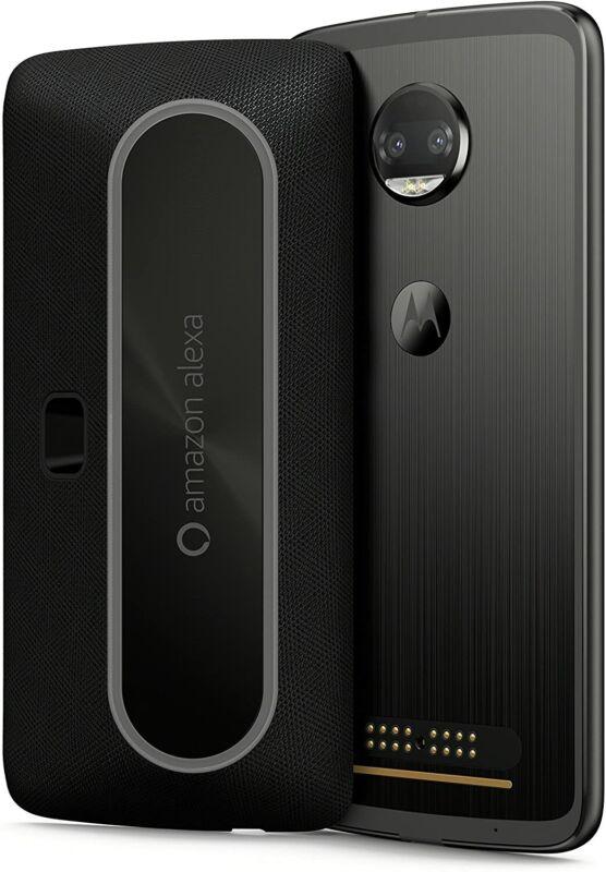 Motorola Moto Smart Speaker with Amazon Alexa for Moto Z, Moto Z Play - Black