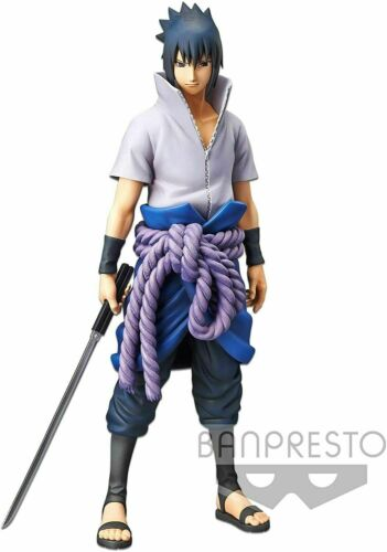 Banpresto Grandista Nero - Naruto Shippuden - Sasuke Uchiha Figure (AUTHENTIC!!)