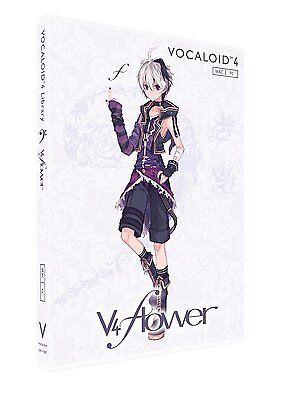YAMAHA flower VOCALOID4 Library DVD Software Windows Mac NEW