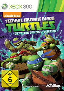 Teenage Mutant Ninja Turtles: Die Gefahr des Ooze-Schleims | Xbox 360 | NEU OVP