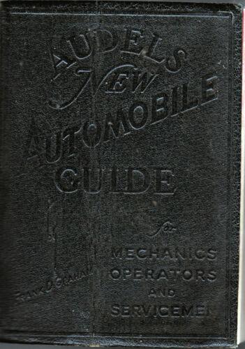 Audels New Automobile Guide. 1949 Edition
