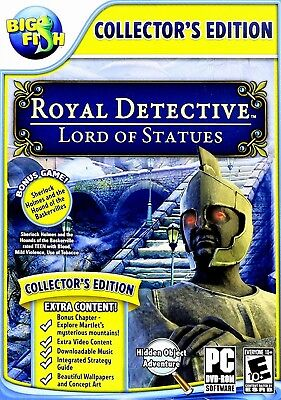 Computer Games - Royal Detective Lord Of Statues PC Games Windows 10 8 7 XP Computer Games hidden
