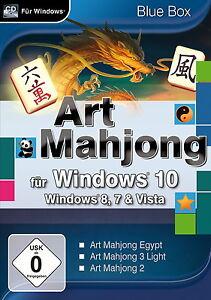GAME-Art-Mahjong-fuer-Windows-Vista-7-8-8-1-10-Spiel-Neu