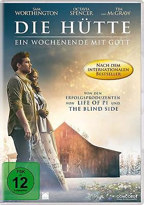 DVD * DIE HÜTTE - EIN WOCHENENDE MIT GOTT  # NEU OVP $