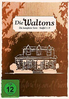 Complete Box Set the Waltons Tv Series Season 1-9 Limited Edition 58 DVD
