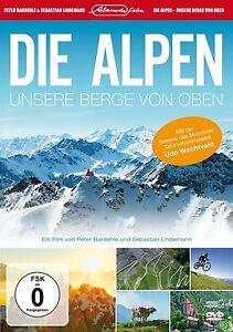 DVD * DIE ALPEN - UNSERE BERGE VON OBEN # NEU OVP