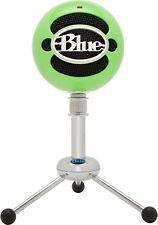 Blue Snowball Cardioid Omnidirectional USB Condenser Microphone - Neon Green