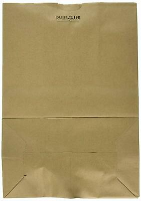 Duro Bags Heavy Duty Duro Kraft Brown Paper Barrel Sack Bag, 57 Lbs Basis... New