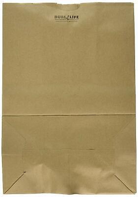 Duro Bags Heavy Duty Duro Kraft Brown Paper Barrel Sack Bag, 57 Lbs Basis... New