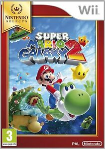 Super Mario Galaxy 2 Wii Game (Selects) - Brand New & Sealed Nintendo Wii Game