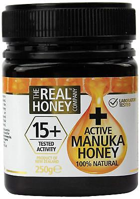 New Zealand The Real Honey Company Manuka Honey Active 15+ - 250g