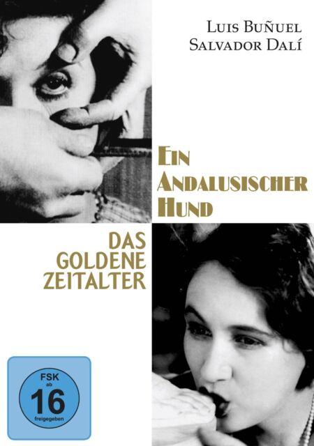 Ein andalusischer Hund + Das goldene Zeitalter (Louis Bunuel, Dali) DVD NEU+OVP!