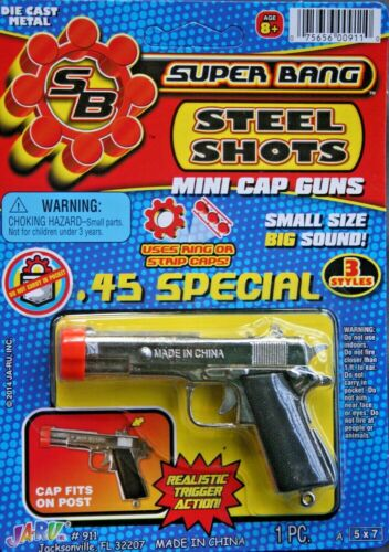 Steel Shot Mini Cap Gun .45 Special New in Packaging