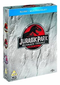 Jurassic Park Ultimate Trilogy 1-3 Blu Ray Complete Set Collection 1 2 3