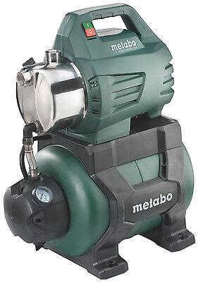 Metabo Hauswasserwerk HWW 4500/25 Inox Wasserwerk Pumpe Gartenbewässerung Neu