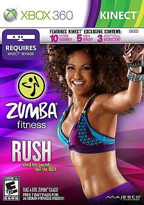 Zumba Fitness RUSH XBOX 360 KINECT! DANCE PARTY, WORKOUT, CARDIO, JUST FUN! (Zumba Fitness Cardio)