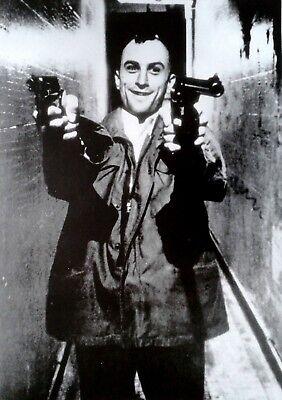 Taxi Driver, Robert de Niro: 2 Guns (1975)   US Import Filmposter 59 x 84 cm