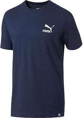 PUMA Peacoat-Puma White Archive Logo Box T-Shirt (Puma-peacoat)