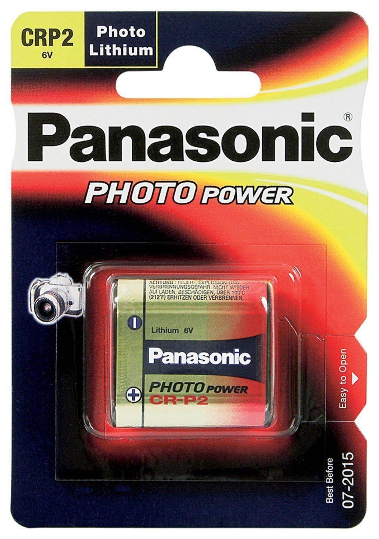 1x CRP2 CR-P2 PANASONIC Foto-Batterie Lithium 6V NEU 34,8 x 19,3 x 35,6