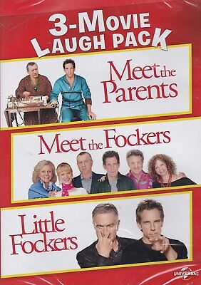 Meet The Parents   Meet The Fockers   Little Fockers   3 Movie Collection   New