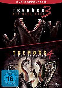 TREMORI-Parte-3-amp-4-Im-Terra-der-Razzo-worm-NUOVO-BRUT-Come-tutto-begann-Box-DVD