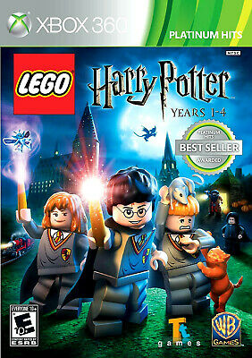 LEGO:HARRY POTTER YEARS 1-4 XBOX 360, PLATINUM HITS, BRAND NEW,SEALED, FREE SHIP